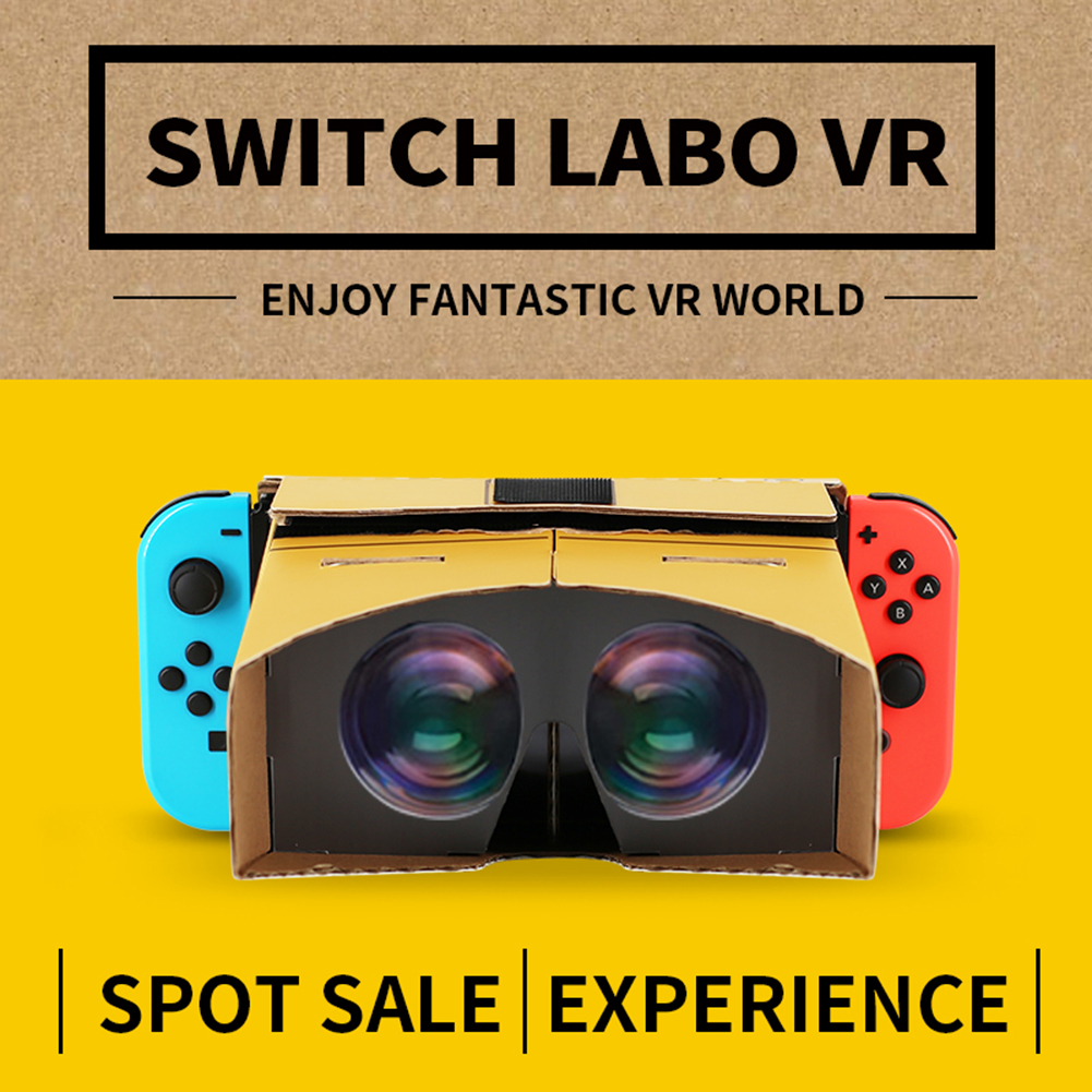 Hot VR Folding Virtual Reality Glasses 3D Glasses VR Box Movies Game for Nintend Switch Super Odyssey The Legend Zeldas wilderneHot VR Folding Virtual Reality Glasses 3D Glasses VR Box Movies Game for Nintend Switch Super Odyssey The Legend Zeldas wilderne