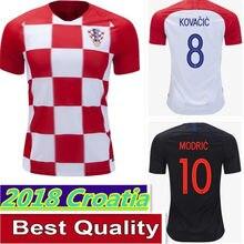 dea7b72f0 Hot Sale 2018 World Cup Best Quality Croatiaes Soccer Jerseys Modric  Mandzukic Rakitic Home Away Football