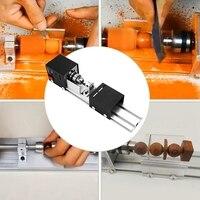 כלי מחרטה כלי קשר Plug 100W מכונת מיני מחרטה DIY נגרות מכונת מחרטה השחזה וליטוש חרוזים צחצוח מקדחה רוטרי כלי עץ וו (3)