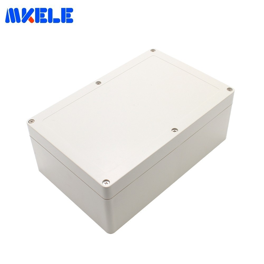 Outdoor Plastic Electrical Industrial Projector Enclosure Junction Box Electronics Enclosure ABS Material 380*260*105 mm-in Connectors from Lights & Lighting    1