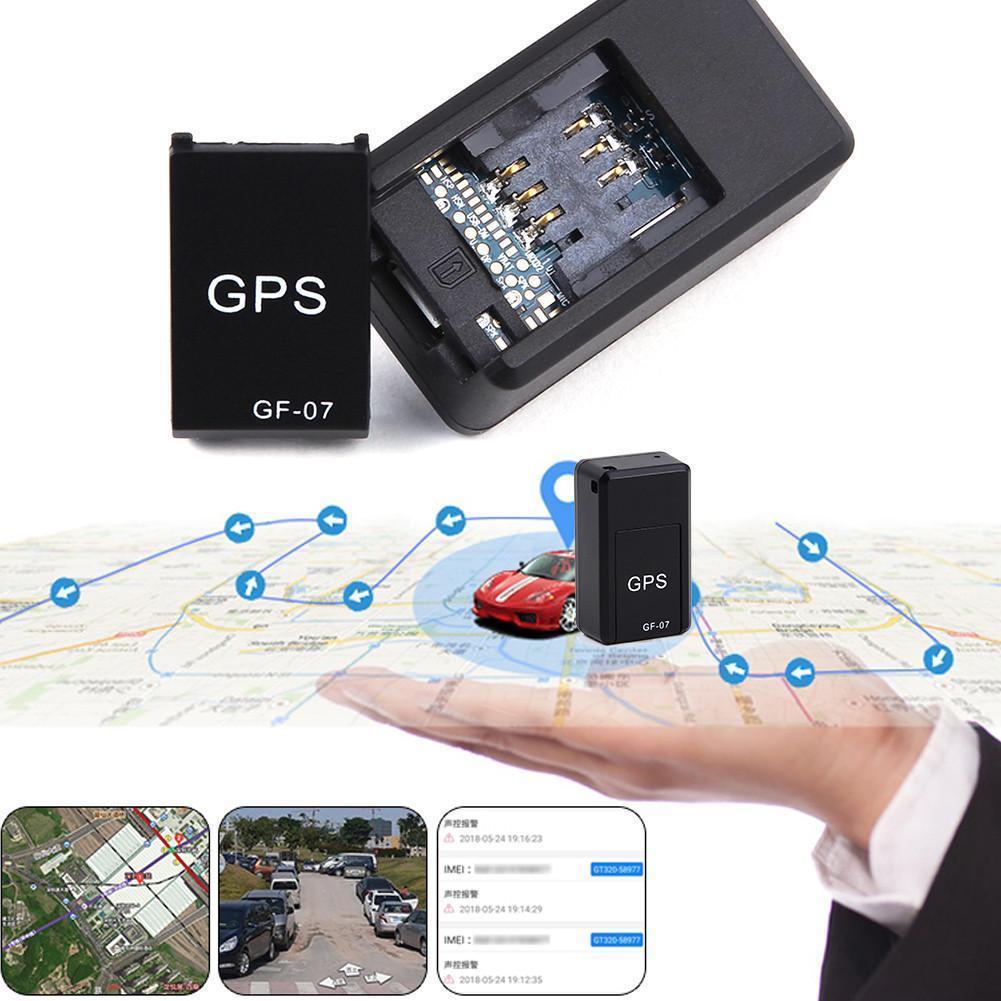 GF07 GSM GPRS Mini coche magnético GPS Anti-perdido grabación seguimiento localizador dispositivo rastreador gps Tracker