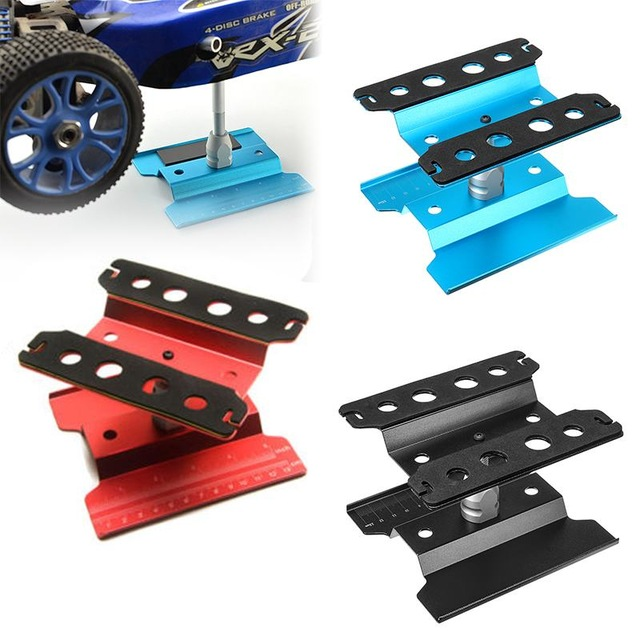 Alloy Model Repair Station Work Stand Rotate 360 for 1/10 1/8 RC Car High Quality RC Car Parts Toys for Children