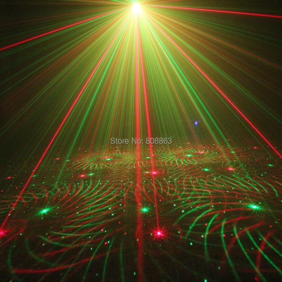 ESHINY Mini 4in1 Effet de Modèle R & G Audio Star Projecteur Laser - Éclairage commercial - Photo 4