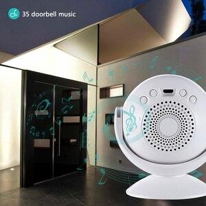 Image 2 - Motion Detector Welcome Doorbell 4 Functions PIR Store Shop Entry Motion Sensor Infrared Induction Alarm Door Bell Night Light