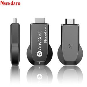 Image 1 - Anycast M100 2.4G/5G 4K 미라 캐스트 모든 캐스트 무선 DLNA AirPlay TV 스틱 Wifi 디스플레이 동글 수신기 IOS 안 드 로이드 PC