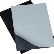 5 шт. резиновый магнитный лист доска 0,5 мм самоклеющиеся гибкие толщина фото/автомобиль/Выставка/Ad 297x210 мм