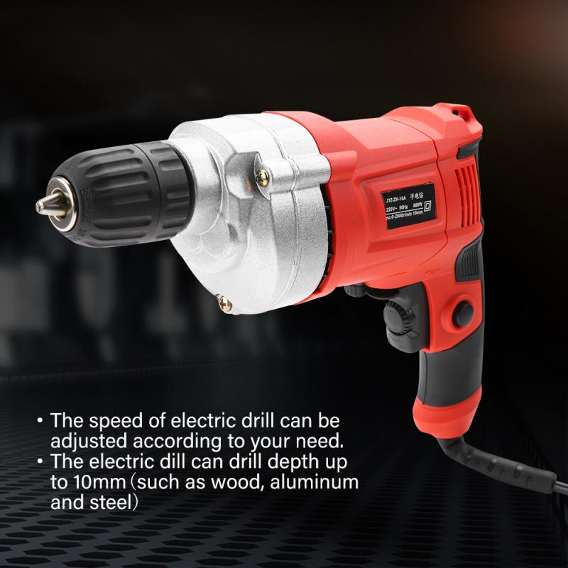 Adjustable Electric Drill Tools taladro inalambrico Multifunctional Mini Timing Pistol Type Handle Electric Drill Drilling Set