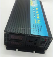 Dual digital display 2500w inverter pure sine wave 24v 220v dc to ac power inverter