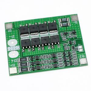 Image 3 - BMS 3S/4S 40A 12V ليثيوم أيون ليثيوم 18650 بطارية لوح حماية حزم لوحة دارات مطبوعة التوازن الدوائر المتكاملة الإلكترونية وحدة
