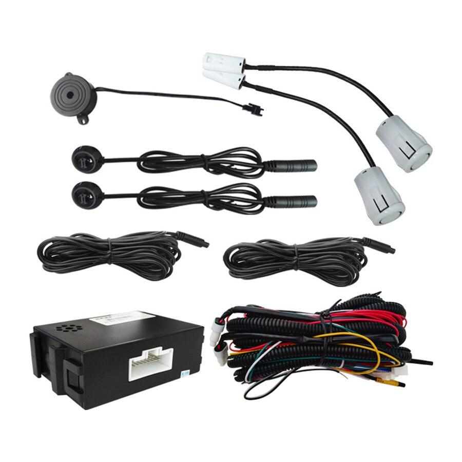 Surveillance des angles morts de voiture système de détection Radar BSM Assistant de capteur à ultrasons