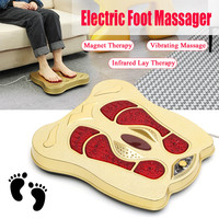 Electromagnetic Wave Foot Treatment Instrument Automatic Roller Care Circulation Therapy Heater SPA Foot Bottom Leg Massager