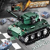RC legoings Tiger tanks Building blocks Technic World War 2 Military German Army Model bricks set kids toys for children boys