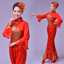 3baaaf45b 2019 New Year Women Dancing Traditional Costumes Performance Clothes Spring Festival  Dance Costume Hanfu Dress Outfit