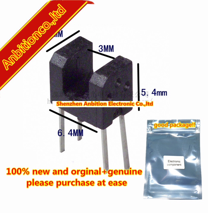 10pcs 100% New And Orginal RPI-352 Photointerrupter, Double-layer Mold Type In Stock