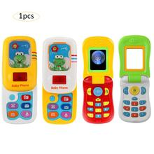 Children's Simulation Music Mobile Phone Infant Toys Baby Telephone Great Learning Machine High Quality