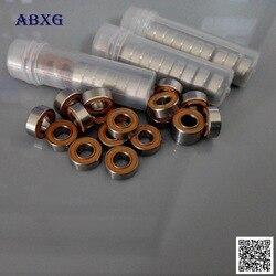10 шт. SMR126 2OS SMR126 2RS MR126 сертификатом от сертификационной ABEC7 6x12x4 мм подшипник рыболовного судна нержавеющая сталь гибридные керамические подш...