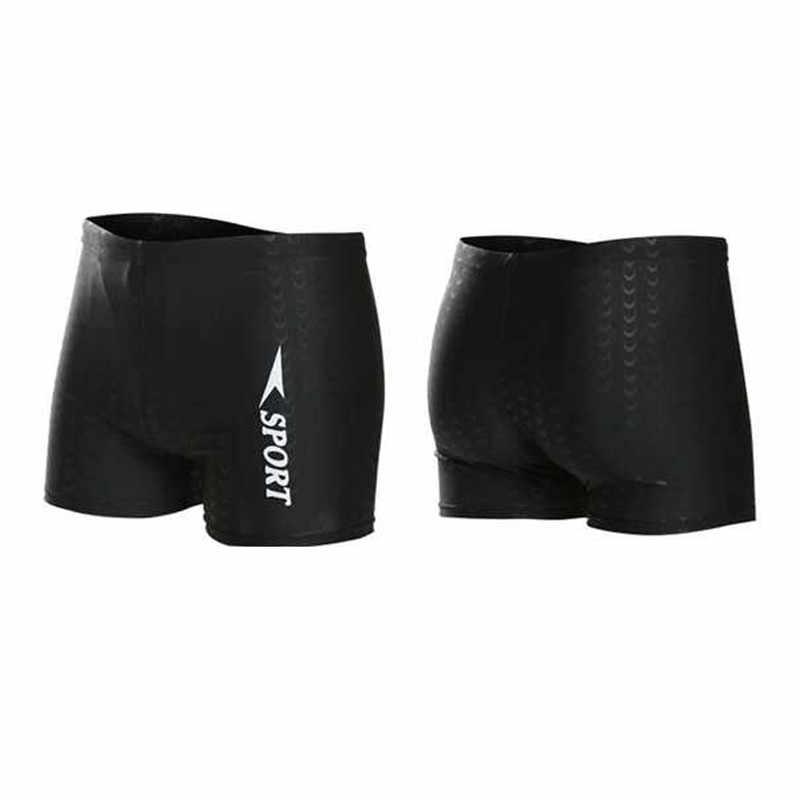 2019 New Men's Short Swim Trunks Beach Surfing Running Swimwear Shorts loose  swimsuit plus Size XL-XXXL