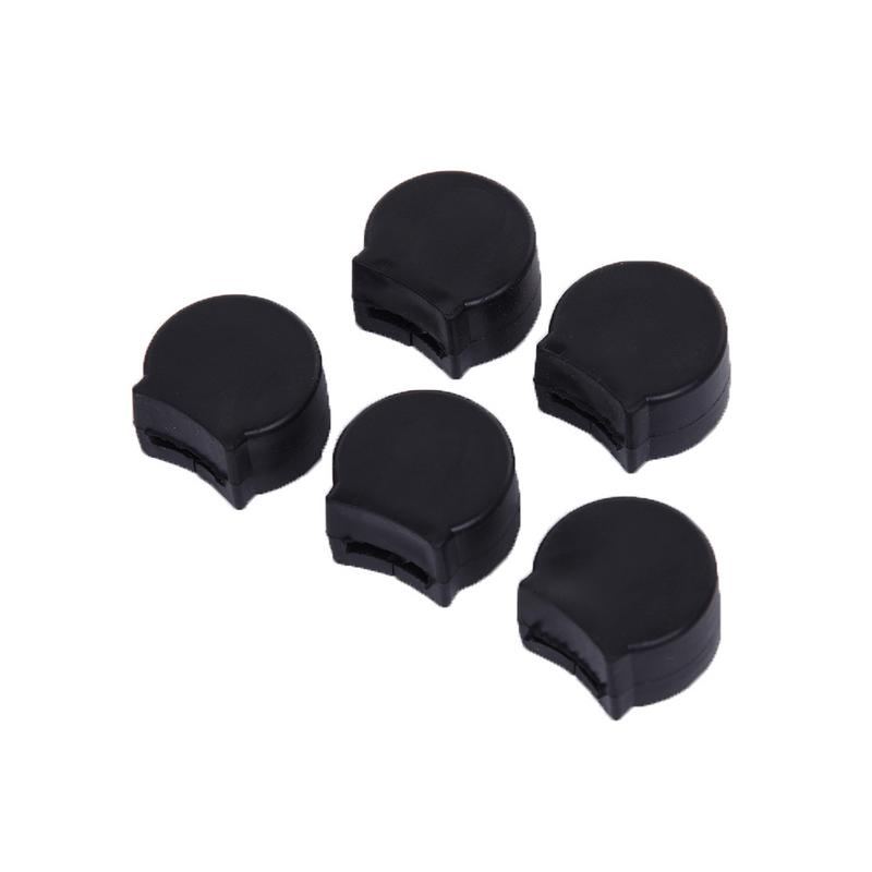 5pcs/set Rubber Clarinet Thumb Rest Cushion Finger Protector Comforter Finger Cover Woodwind Instruments Accessories