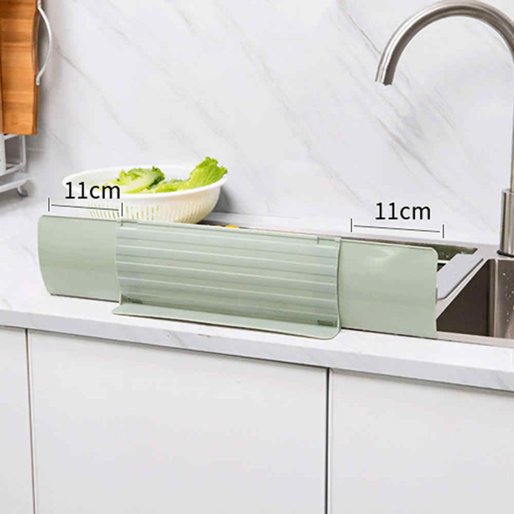 Kitchen Sink Water Splash Guards Impermeable Sink Shelf Organizer Water  Splash Guard Waterproof Screen Gadgets Baffle Plate
