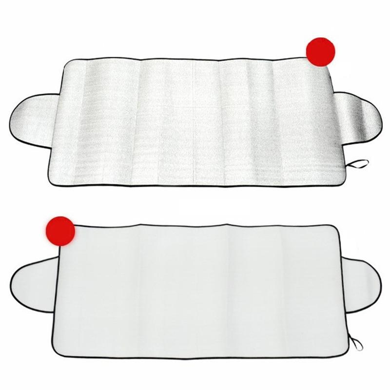 VORCOOL Car Sunshade Portable Multi-purpose Car Windshield Cover Anti Snow Frost Ice Dust Shield Sunshade Screen Protector