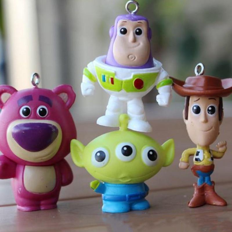 Lno nano bloques kawaii Toy Story Buzz Lightyear Woody squeeze Aliens  Stitch elfos ladrillos de construcción 0bf9c659d90