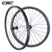 29 MTB Ruote 29er Mountain Bike Wheelset 30 millimetri di Larghezza 25 millimetri Tubeless Gara XC Hookless 29 Inch MTB Ruote