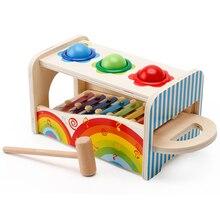 Musical Instrument Set Educational Pounding Bench Instrument Toy Musical Pounding Toy Instruments Set for Kids