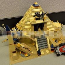 New Lepin Block 31001 Will Film Series Egypt Fa Lao Series Scorpion Wang Pyramid Mummy Plastic Building Blocks Toys 822pcs