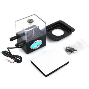 Image 1 - 수냉식 순환 펌프 PC CPU 액체 냉각 컴퓨터 시스템 SC 300 T 12 V DC 자동차 용 초 저소음 워터 펌프 및 펌프 탱크