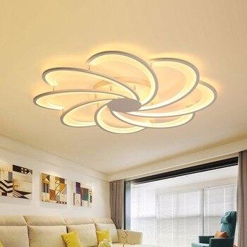 Moderne LED Weiß Decke Licht Mit Fernbedienung Für Wohnzimmer Hause ...