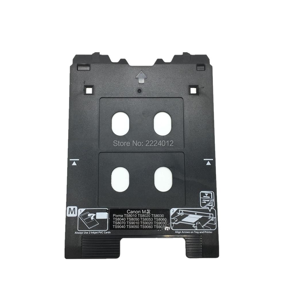 2019 Inkjet PVC Card Tray For Canon PIXMA TS8000 And TS9000 Series Printers (Canon M Tray Printers)