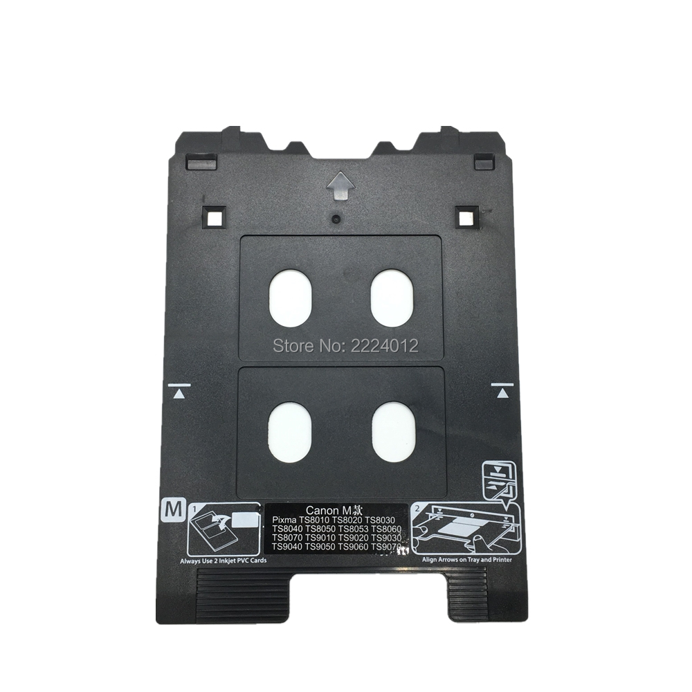 2019 Inkjet PVC Card Tray For Canon PIXMA TS8000 And TS9000 Series Printers (Canon M Tray Printers)