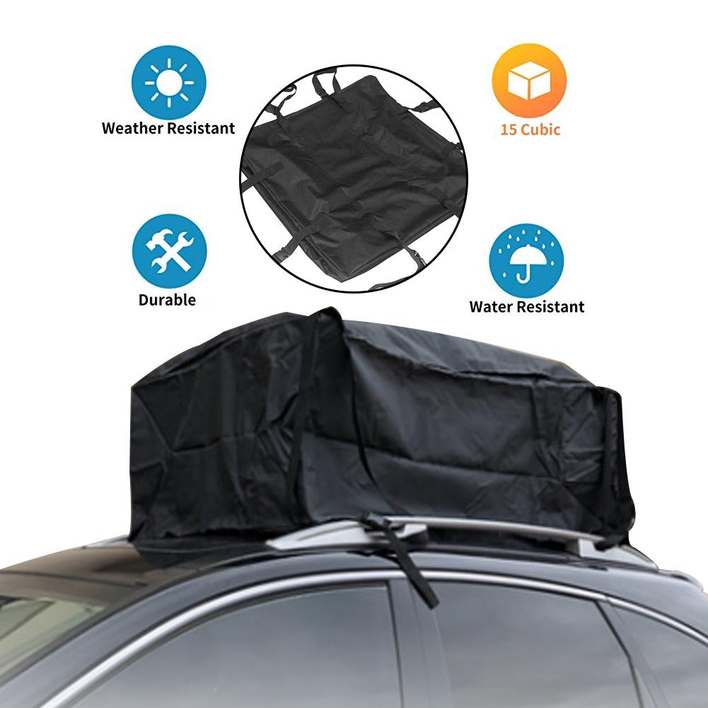 Car Roof Top Bag Roof Top Bag Rack Cargo Carrier Waterproof Luggage Carrier Storage Soft Cargo