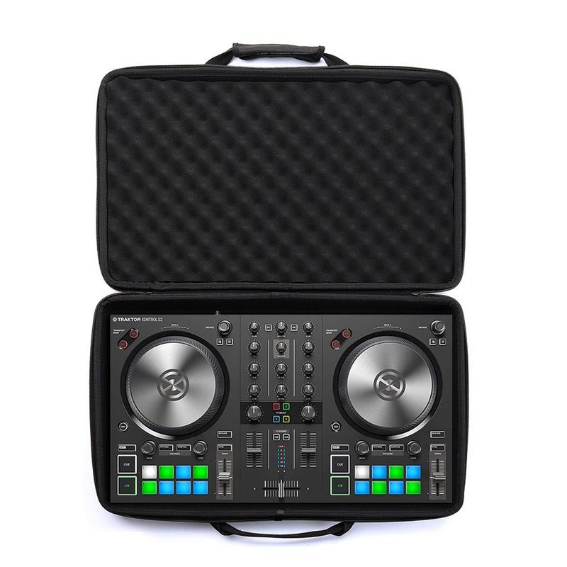 EVA Hard Shell Shockproof DJ Controller Storage Bag With Sturdy Zip Widening The Handle Storage Bag Portable Case TravelEVA Hard Shell Shockproof DJ Controller Storage Bag With Sturdy Zip Widening The Handle Storage Bag Portable Case Travel