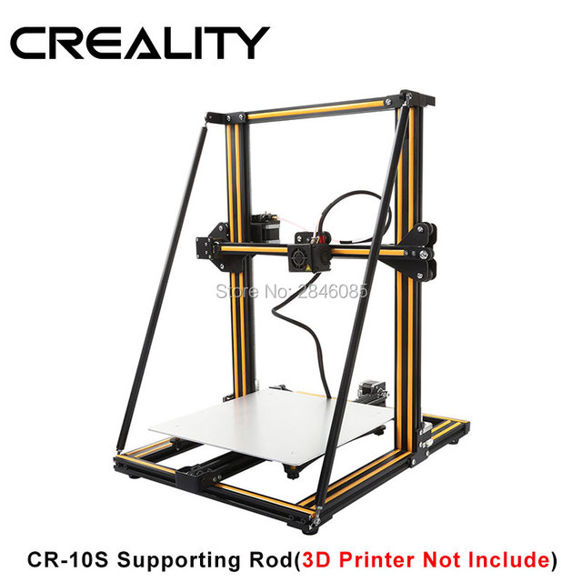 US $37 23 24% OFF|CREALITY 3D Printer Upgrade Parts Supporting Rod Set Two  Size Choose for Creality 3D CR 10 CR 10S CR 10 S53D Printer -in 3D Printer