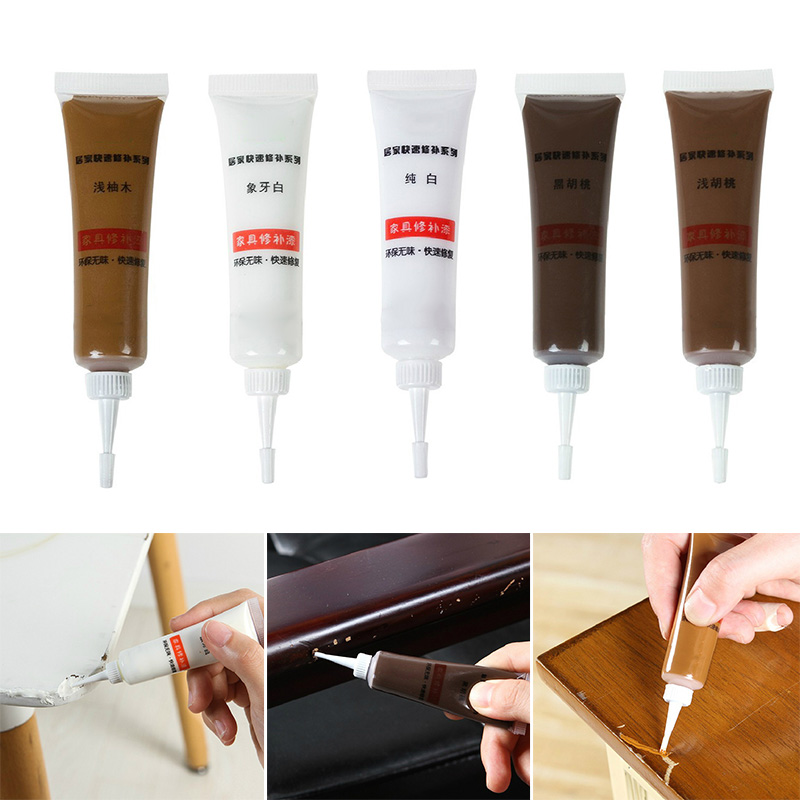Us 1 81 23 Off Gel Construction Multi Color Solid Wood Furniture Scratch Repair Cream Wood Floor Tiles Filling Paint Decorative Seal Glue Paint In