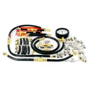 Image 3 - TU 443 Car Trucks Manometer Fuel Injection Pressure Tester Gauge Kit Fuel Flow 0 140 psi For Bosch CIS GMTBI System