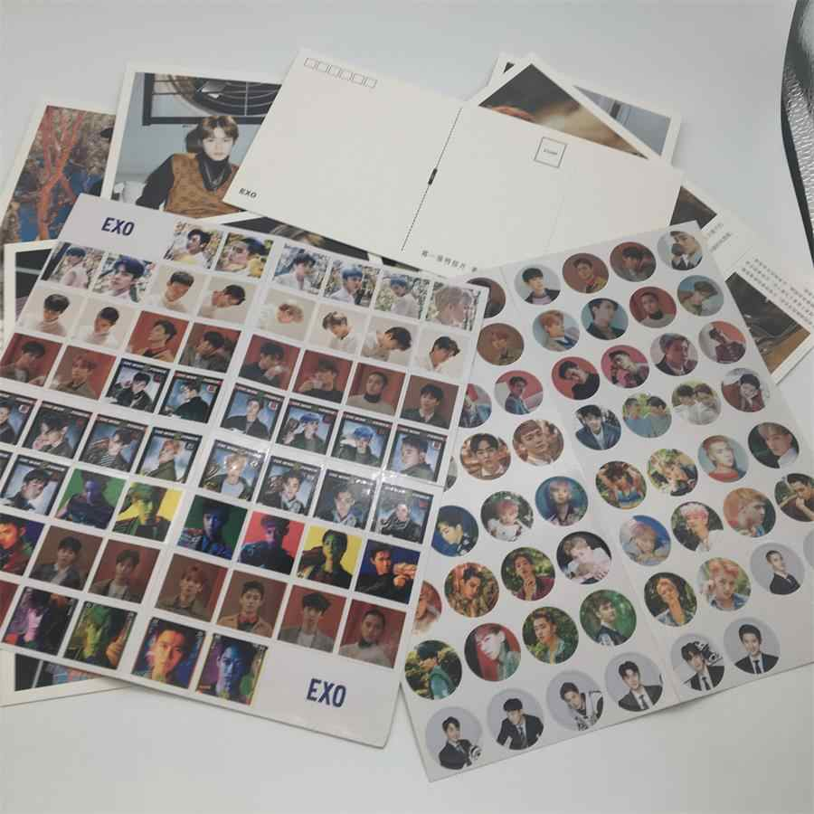 Kpop EXO Don't Mess Up My Tempo Postcard Set Sehun Chanyeol HD Photocards  200pcs NEW