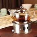 สแตนเลสสตีลกาน้ำชาอุ่นฐานความร้อนกาแฟชาเครื่องทำความร้อน Trivets ฐาน #1114