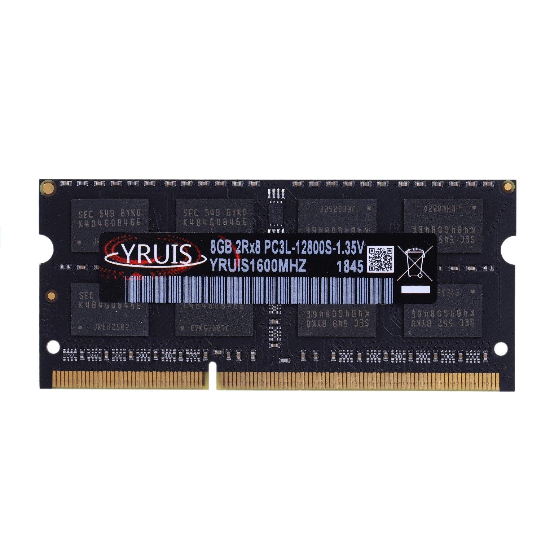 Yruis DDR3 8 GB 1600 MHz Ram Sodimm Mémoire D'ordinateur Portable Soutien DDR3 Portable