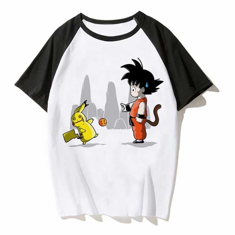 6d35037f Anime Pokemon Shirt Men Pikachu Pokemon Go Plus Tshirt Naruto Pokemon T  Shirt Funny Pokemon Anime