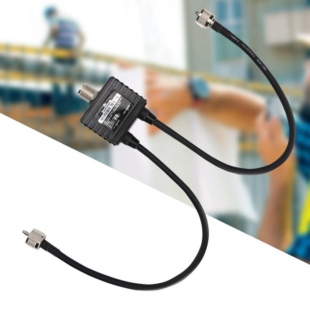 SOONHUA haute qualité MX72 jambon antenne Combiner différentes fréquences HF/VHF/UHF linéaire Combiner Station de Transit Duplexer