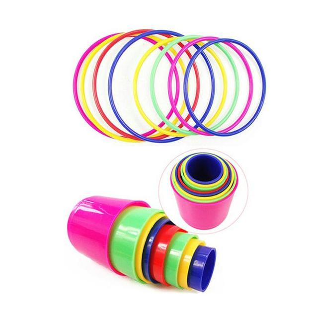 Educational-Colorful-Ring-Toss-Puzzle-Toys-Plastic-Intelligence-Development-Parent-child-Sports-Game