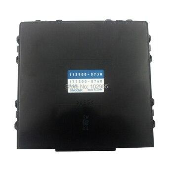 Original Ar Condicionado Do Painel De Controle PC200 20Y-810-1231 177300-8760 113900-0730 Para Komatsu/220-8 Escavadeira 6 Garantia um mês