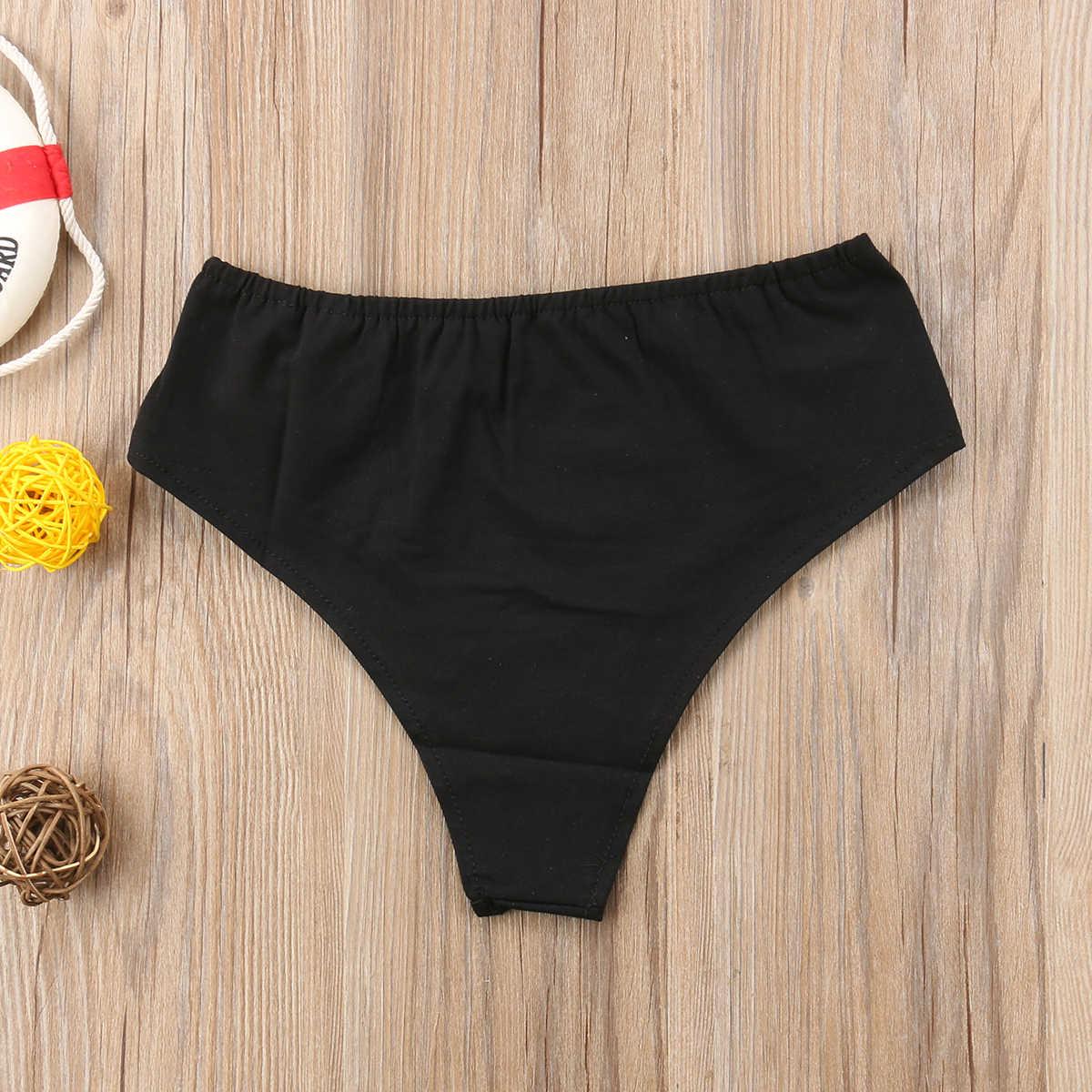 2019 Moda Sıcak Kadınlar Yüksek Bel Mektup Rogue Tanga Düşük Bölüm Brezilyalı Külot Iç Çamaşırı Külot Kırmızı Siyah