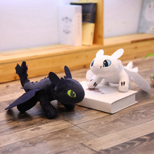 Stuffed Plush Soft Fun Night Fury Dragon How To Train Your Dragon Teeth Plush Toys Toy Plush Stuffed Animal Doll Toy Christmas все цены