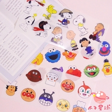 Cheng pin 1Pc Lovely Snoopys Waterproof Oil Proof stationery decorative Sticker Hand Account Notebook Computer Creative Sticker