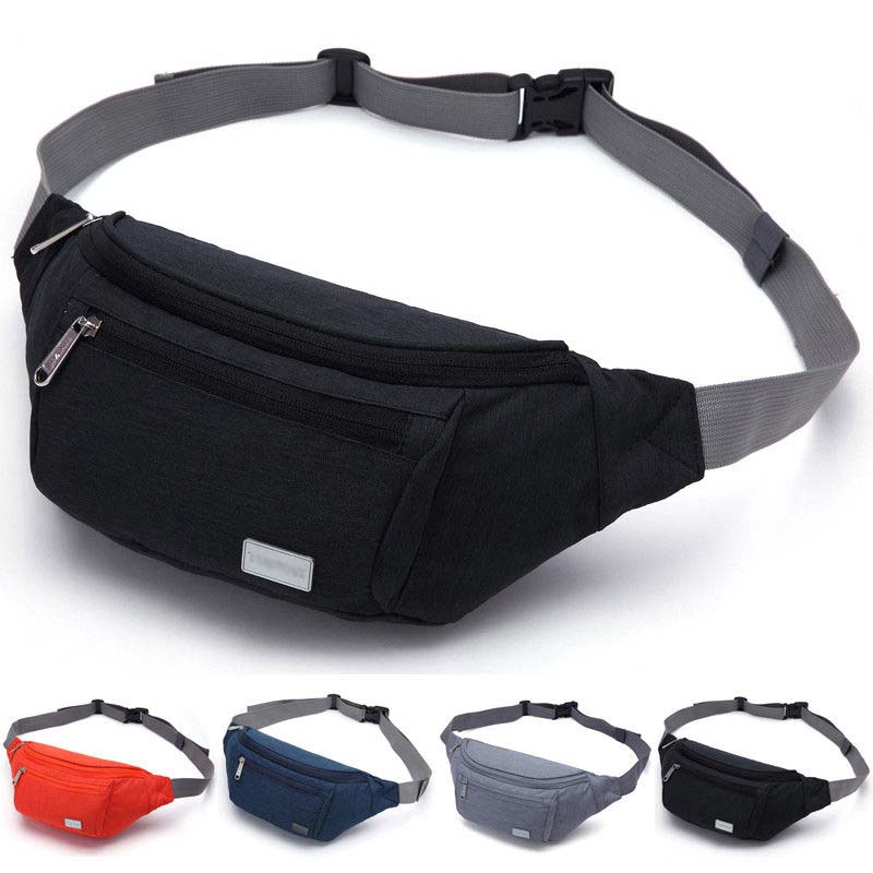 2019 New Arrival Fashion Multifunctional Waterproof Pocket Phone Waist Bag Running Sports Harness Bag Unisex Purse  Chest Bag