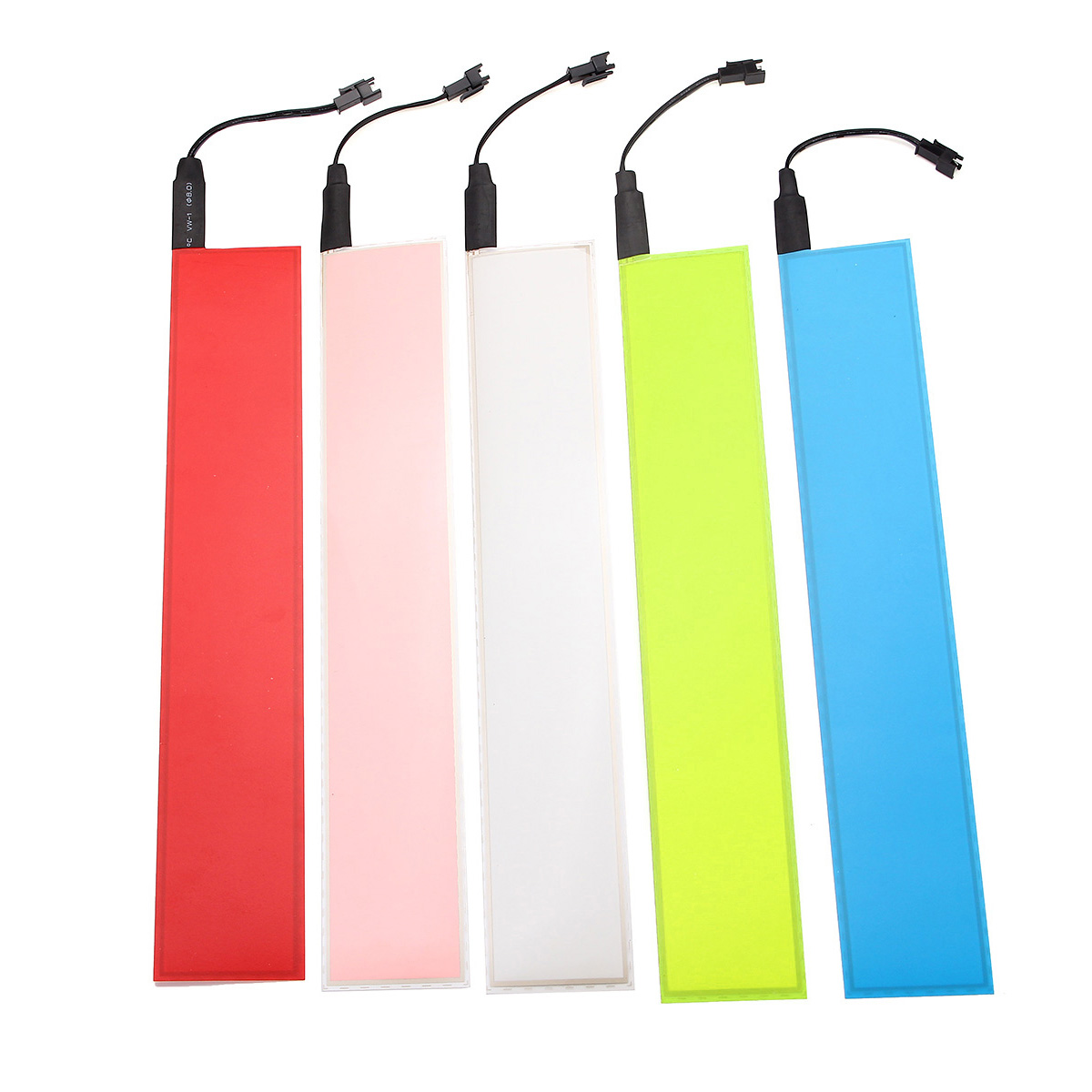30x5cm 12V Flexible EL Light Panel Electroluminescent Back Light Strip Lamp With Inverter For Home Car Party