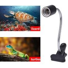 Durable Heat Light Aquarium Reptile 360 Degree Rotation Stand Clip Turtle Accessories